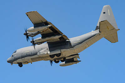 US Air Force Lockheed, MC-130J Hercules CN 382-5694. Naval Base Coronado, Aug 19th, 2014.
