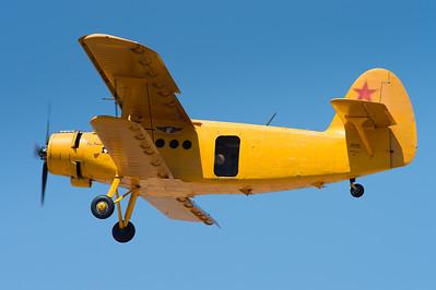 Confederate Air Force Antonov AN-2 'Colt' N22AN.