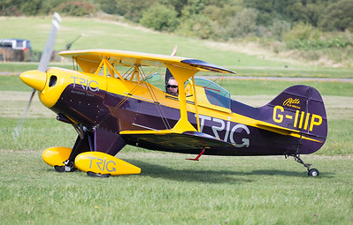 Curtis Pitts, Display Team, G-IIIP, Pitts, Pitts Special S-1D, Shoreham 2014, Trig Aerobatic Team