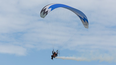 Paraglider (with engine), Shoreham 2014