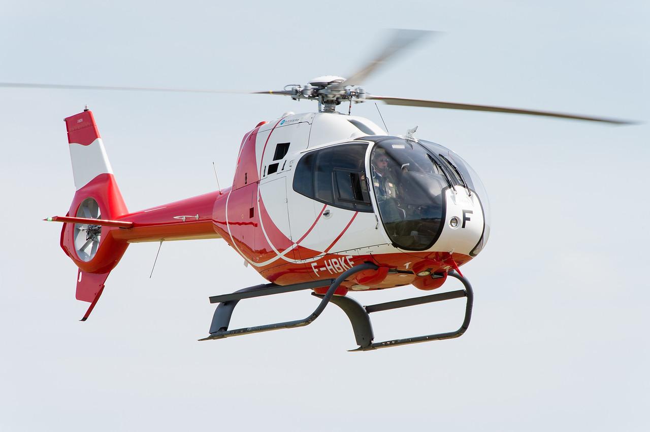 Centenaire de la BA705, 7 juin 2015. Eurocopter EC-120B.