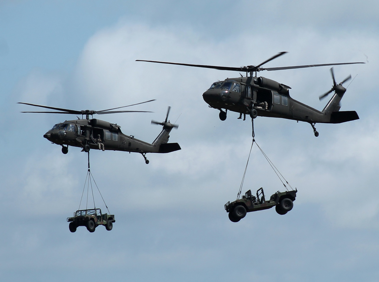 RI ArNG UH-60 demo