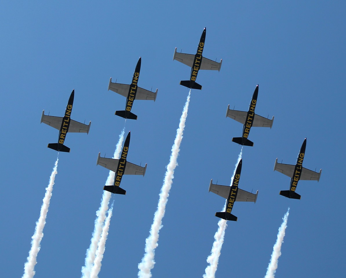 France's Breitling Jet Team; L-39 Albatross Aircraft