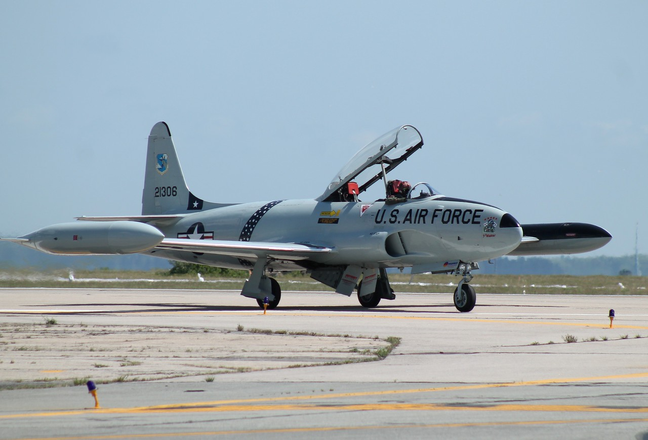 Gregory Colyer Ace Maker Airshows T-33 Shooting Star.