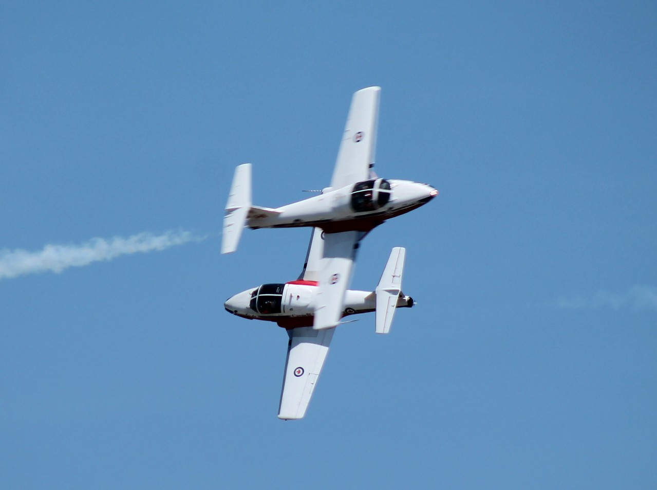 Canadian Snowbirds CT-114s