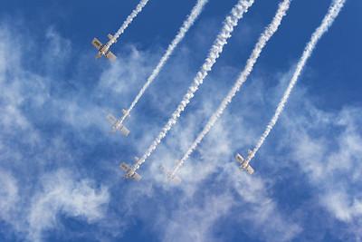 Display Team, G-CDPJ, G-CIBM, G-EGRV, G-MAXV, G-VFDS, Old Sarum, RV, RV4, RV8, Raven Display Team, Van, aircraft, airshow