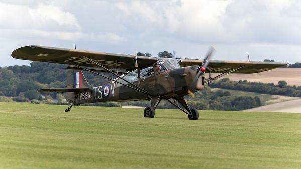 Auster AOP.6, Auster Air Observation Plane, Auster Aircraft Ltd., Old Sarum, TW536, aircraft, airshow