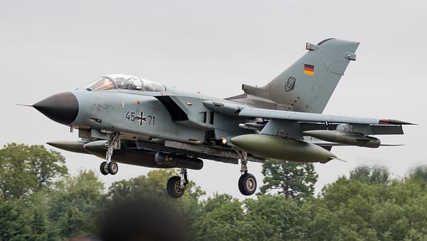 45-71, Arrivals, German Air Force, Panavia Aircraft, RIAT 2015, Tornado PA-200