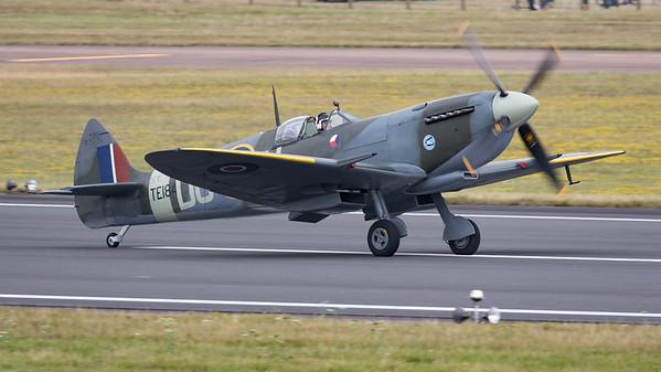 RIAT 2015, Spitfire, Spitfire Mk LF XVI, Supermarine, TE184