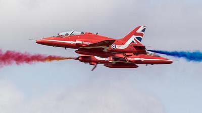 BAe, British Aerospace, Hawk T1, Opposition Pass, RAF, RIAT 2015, Red Arrows, Royal Air Force