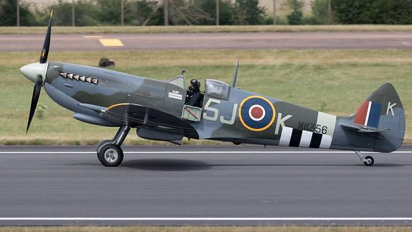 MK356, RIAT 2015, Spitfire, Spitfire MK IIa, Supermarine