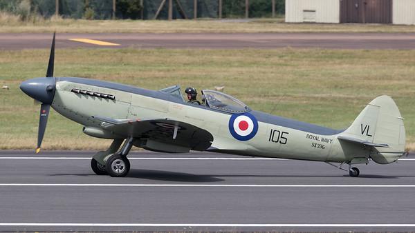 RIAT 2015, SX336, Seafire, Seafire Mk.XVII, Supermarine