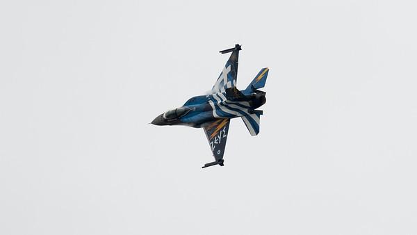 523, F-16 Block 52+, F-16 Fighting Falcon, Greek Air Force, Hellenic Air Force, Lockheed Martin, RIAT 2015, Team Zeus, Viper