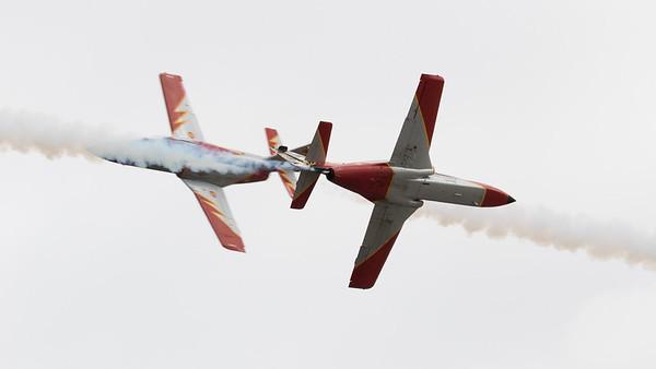 Aviojet, C-101, CASA, Patrulla Aguila, RIAT 2015, Spanish Air Force