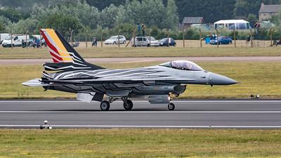 Belgium Air Force, F-16 Fighting Falcon, F-16AM, FA-123, Lockheed Martin, RIAT 2015, Viper
