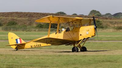 DH-82A, De Havilland, G-ANKZ, N-6466, Shoreham 2015, Tiger Moth