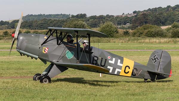 BU-CC, Bu-131, Bucker, Jungmann, Shoreham 2015