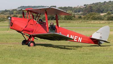 DH-82A, De Havilland, G-ANEN, Shoreham 2015, Tiger Moth