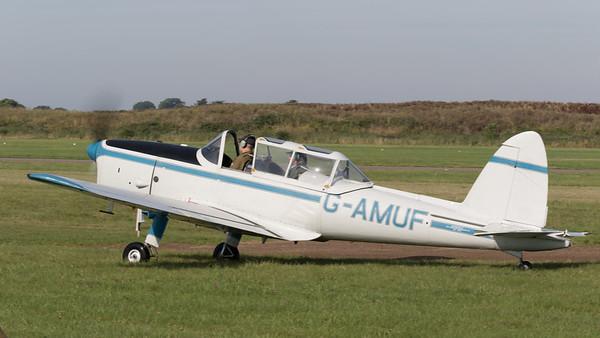 Chipmunk, DHC-1, De Havilland, G-AMUF, Shoreham 2015