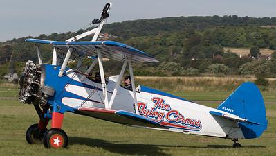 AeroSuperBatics, Boeing, Display Team, N54922, Shoreham 2015, Stearman N2S, The Flying Circus, Vic Norman