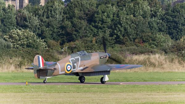Hawker, Hurricane, P2921, Sea Hurricane Mk10, Shoreham 2015