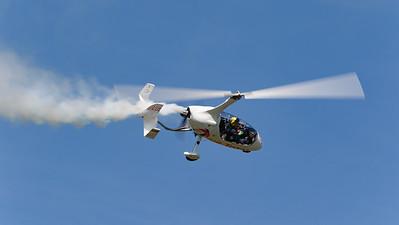 Calidus, G-ULUL, Gyrocopter, Gyroplane, Rotorsport UK, Shoreham 2015