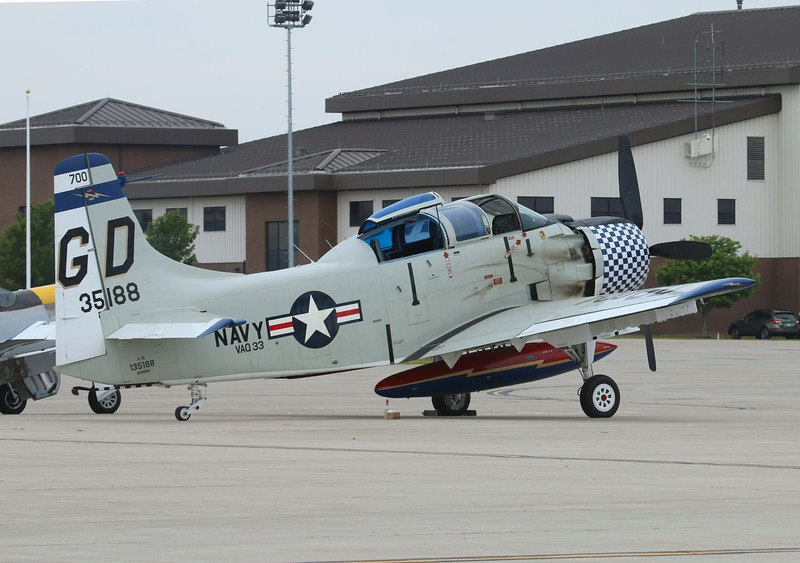 Collings Foundation A1-E Skyraider [135188] N188RH