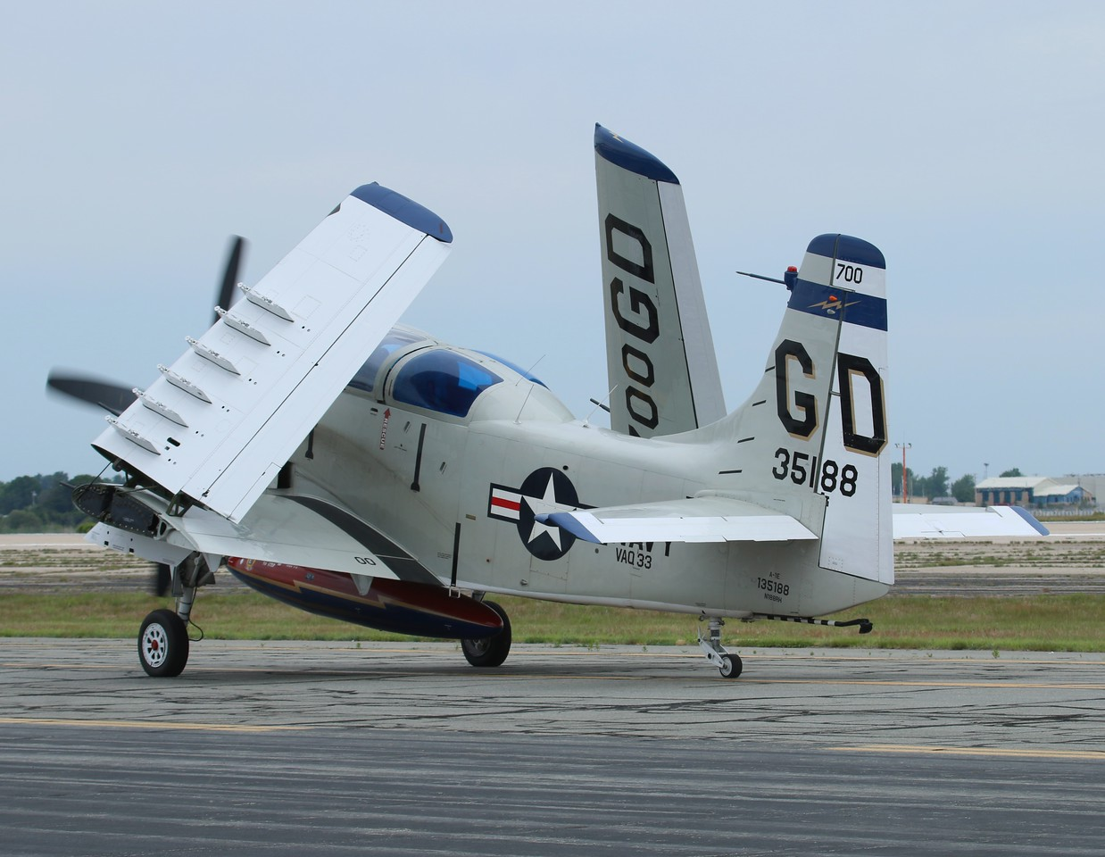 Collings Foundation A1-E Skyraider [135188] N188RH
