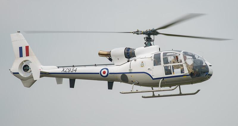 Biggin Hill, Biggin Hill 2016, Festival of Flight, Gazelle, HT.2, The Gazelle Squadron, Westland, XZ934