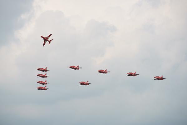 BAe, Biggin Hill, Biggin Hill 2016, British Aerospace, Festival of Flight, Hawk T1, Red Arrows