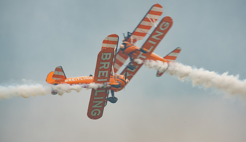 AeroSuperBatics, Biggin Hill, Biggin Hill 2016, Boeing, Breitling Wingwalkers, Festival of Flight, Stearman N2S, Vic Norman