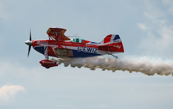 Biggin Hill, Biggin Hill 2016, Curtis Pitts, Festival of Flight, G-EWIZ, Pitts, Pitts Special S-2S, Rich Goodwin