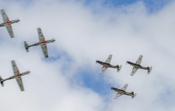 Croatian Air Force, Krila Oluje, PC-9M, Pilatus, RIAT2016, Swift, Wings of Storm (20.3Mp)