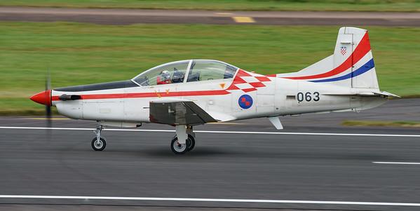 Croatian Air Force, Krila Oluje, PC-9M, Pilatus, RIAT2016, Swift, Wings of Storm (21.0Mp)