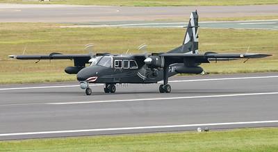 BN-2T-4S, Britten-Norman, Defender 4000, G-WPNS, RIAT2016, demonstrator aircraft (12.5Mp)
