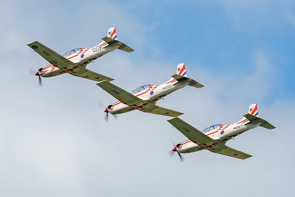 Croatian Air Force, Krila Oluje, PC-9M, Pilatus, RIAT2016, Swift, Wings of Storm (5.4Mp)