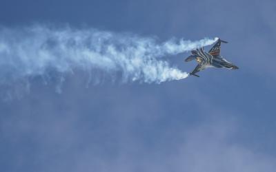 (Greek Air Force), 523, F-16 Fighting Falcon, F-16C Block 52+, Hellenic Air Force, Lockheed Martin, RIAT2016, Team Zeus, Viper (7.3Mp)