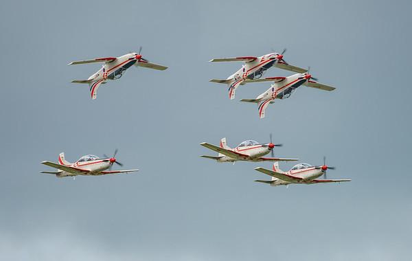 Croatian Air Force, Krila Oluje, PC-9M, Pilatus, RIAT2016, Swift, Wings of Storm (12.7Mp)