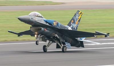 (Greek Air Force), 523, F-16 Fighting Falcon, F-16C Block 52+, Hellenic Air Force, Lockheed Martin, RIAT2016, Team Zeus, Viper (5.0Mp)