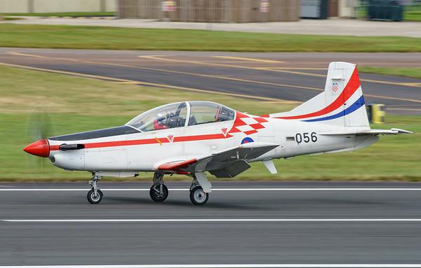 Croatian Air Force, Krila Oluje, PC-9M, Pilatus, RIAT2016, Swift, Wings of Storm (17.5Mp)