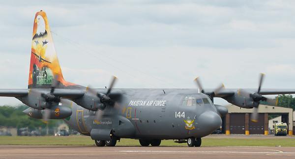 4144, C130, C130E, Hercules, Lockheed, Pakistan Air Force, RIAT2016 (15.3Mp)