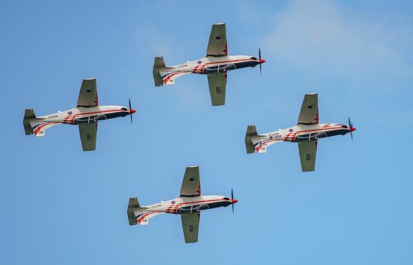 Croatian Air Force, Krila Oluje, PC-9M, Pilatus, RIAT2016, Swift, Wings of Storm (14.3Mp)