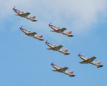 Croatian Air Force, Krila Oluje, PC-9M, Pilatus, RIAT2016, Swift, Wings of Storm (5.8Mp)
