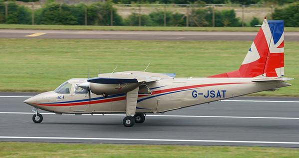 BN-2T, Britten-Norman, G-JSAT, RIAT2016, Turbo Islander (21.5Mp)