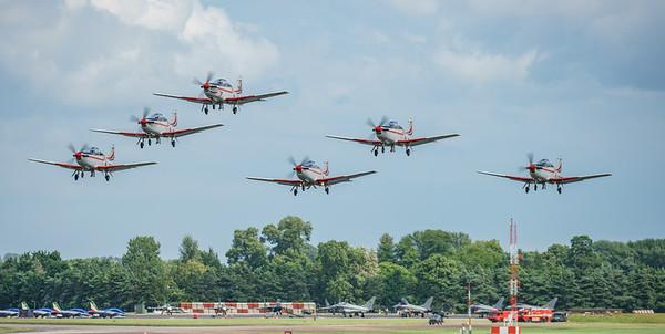 Croatian Air Force, Krila Oluje, PC-9M, Pilatus, RIAT2016, Swift, Wings of Storm (23.2Mp)