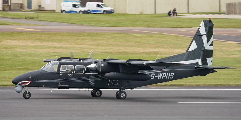 BN-2T-4S, Britten-Norman, Defender 4000, G-WPNS, RIAT2016, demonstrator aircraft (24.5Mp)