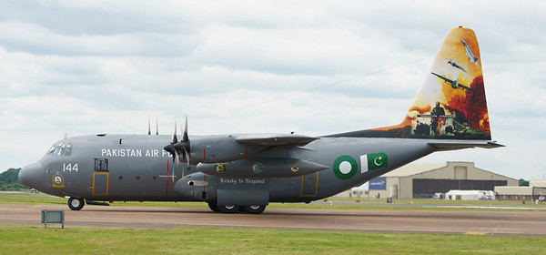 4144, C130, C130E, Hercules, Lockheed, Pakistan Air Force, RIAT2016 (29.5Mp)