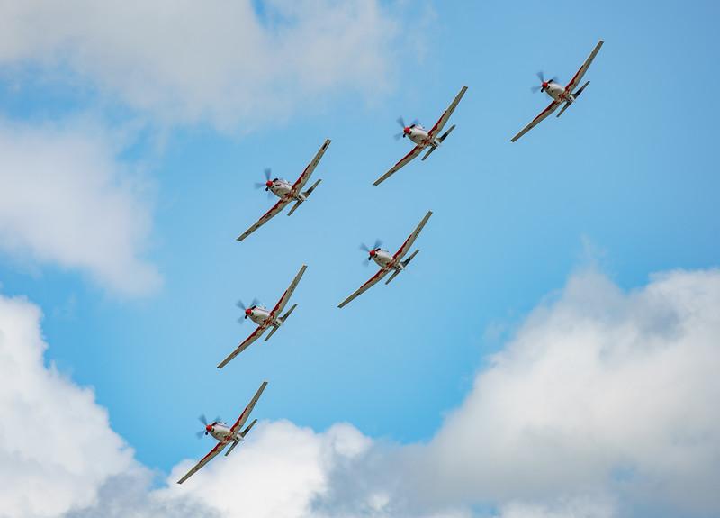 Croatian Air Force, Krila Oluje, PC-9M, Pilatus, RIAT2016, Swift, Wings of Storm (26.1Mp)