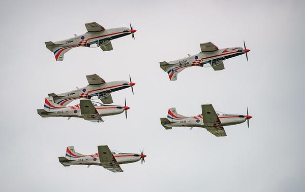Croatian Air Force, Krila Oluje, PC-9M, Pilatus, RIAT2016, Swift, Wings of Storm (30.2Mp)
