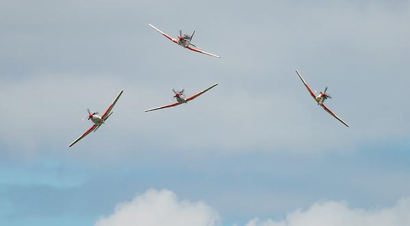 Croatian Air Force, Krila Oluje, PC-9M, Pilatus, RIAT2016, Swift, Wings of Storm (6.7Mp)